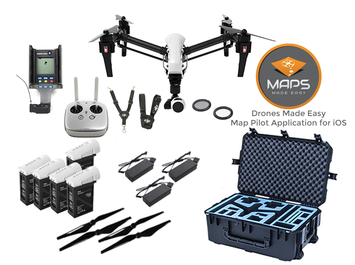 Inspire 1 Pro Deluxe Mapping Bundle
