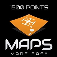 Maps Made Easy Cloud Processing 1500 Points from Drones Made Easy San Diego