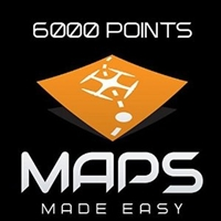 Maps Made Easy Cloud Processing 6000 Points from Drones Made Easy San Diego
