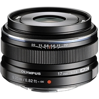 Olympus M.Zuiko Digital 17mm f1.8 Lens (Black) from Drones Made Easy San Diego