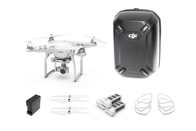 Phantom 3 Advanced Everything You Need Kit (Hardshell Backpack) from Drones Made Easy San Deigo