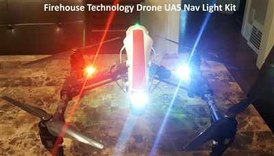 Firehouse ARC Cree High Intensity Strobe Light Navigation Kit from Drones Made Easy San Diego