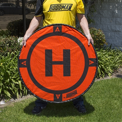 Hoodman 3 Ft. Diameter Drone Landing Pad from Drones Made Easy San Diego