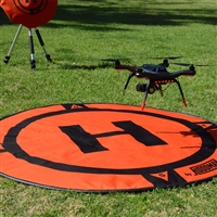Hoodman 5 Ft. Diameter Drone Landing Pad from Drones Made Easy