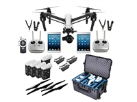 Inspire 1 Raw (Dual Operator) Production Bundle with DJI Focus Remote Controller from Drones Made Easy San Diego