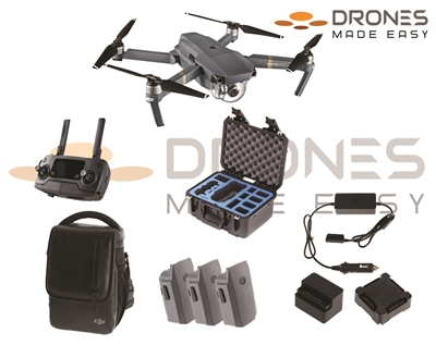 Mavic Law Enforcement Bundle from Drones Made Easy San Diego