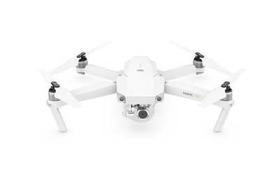DJI Mavic Pro Alpine White quadcopter drone with 4K camera
