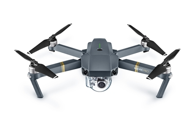 DJI Mavic quadcopter drone with 4K camera