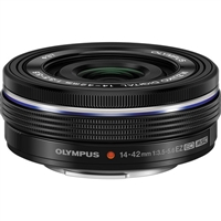 Olympus M.Zuiko Digital ED 14-42mm f/3.5-5.6 EZ Lens (Black) from Drones Made Easy San Diego
