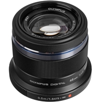 Olympus M.Zuiko Digital ED 45mm f1.8 Lens (Black) from Drones Made Easy