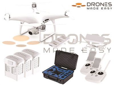 Phantom 4 Pro V2.0 Law Enforcement Bundle by Drones Made Easy San Diego