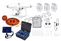 Phantom 4 v2.0 Go Anywhere Bundle by Drones Made Easy San Diego