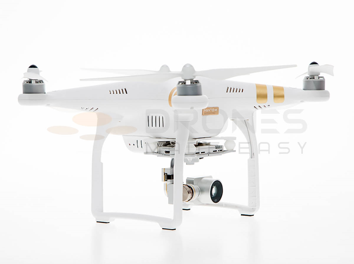Phantom 3 Professional Quadcopter With Spare Battery