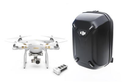 DJI Phantom 3 professional quadcopter drone with 4K camera backpack