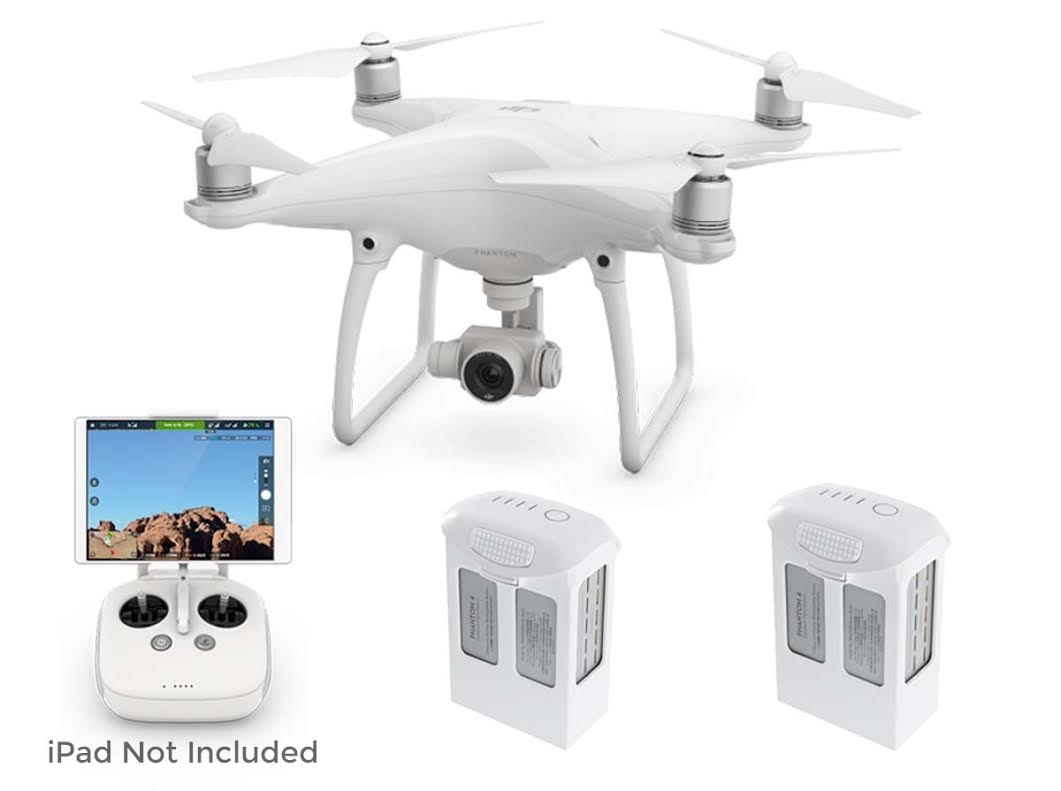 Phantom 4 Pro V2.0 Quadcopter with Spare Battery