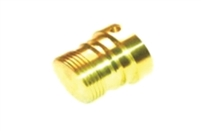 Male Thread Protector - Brass