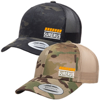 YP Classics Retro Trucker - Multicam - 2 Colours Available