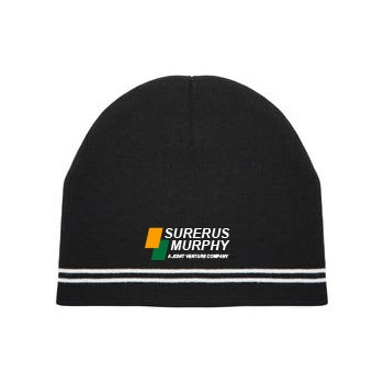 ATC Double Stripe Knit Beanie