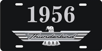 1956 ford Thunderbird personalized novelty license plate, Personalized License Plates, Decorative License Plates, Front License Plates, Car Tags, airbrush