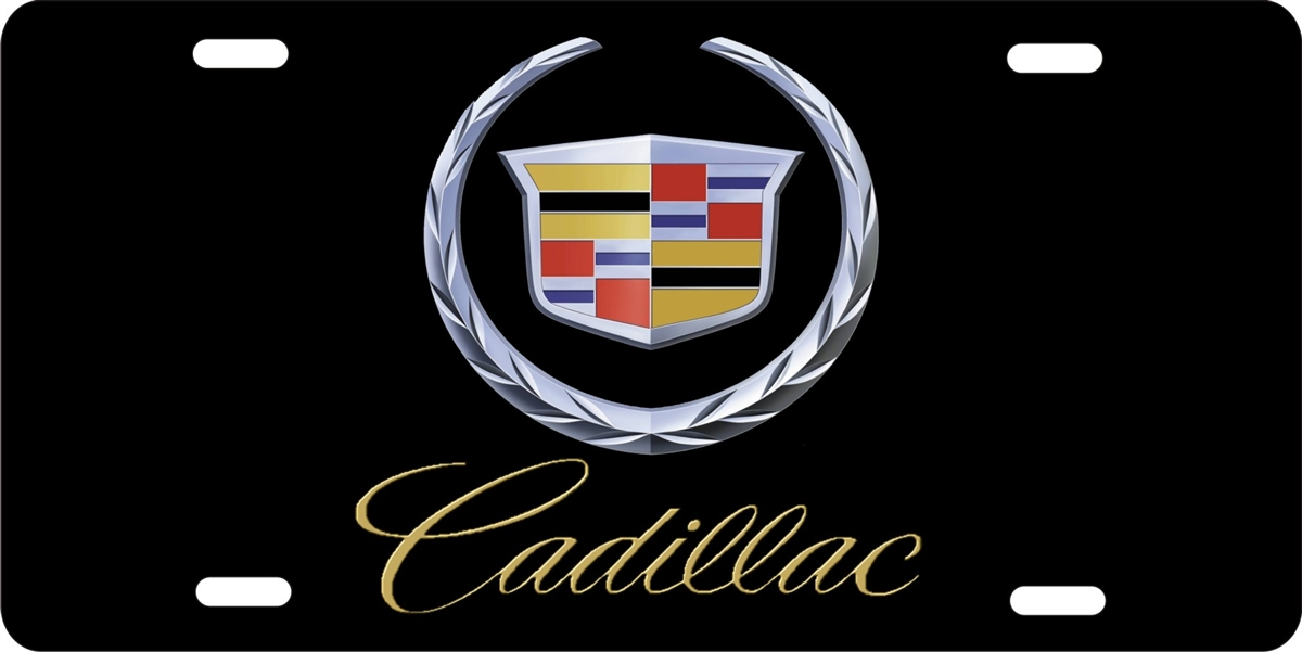Personalized Novelty License Plate Cadillac Custom License