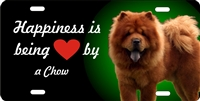 Chow Chow personalized novelty front license plate Decorative car tag