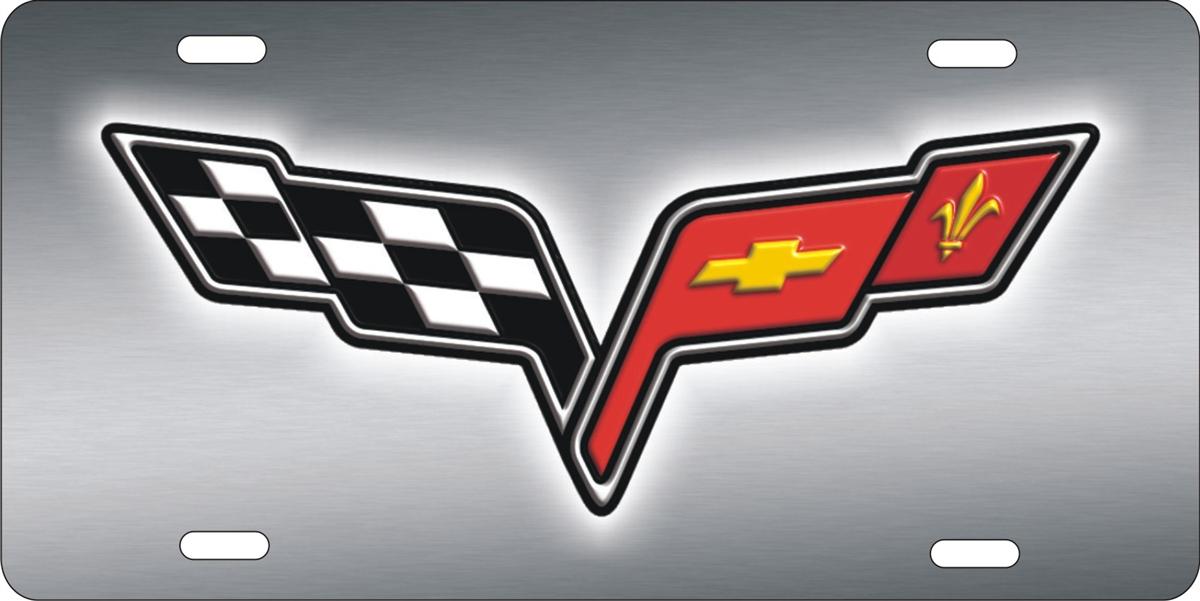 Personalized Novelty License Plate Corvette Custom License