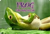 FROG Fully Rely On God personalized aluminum sign