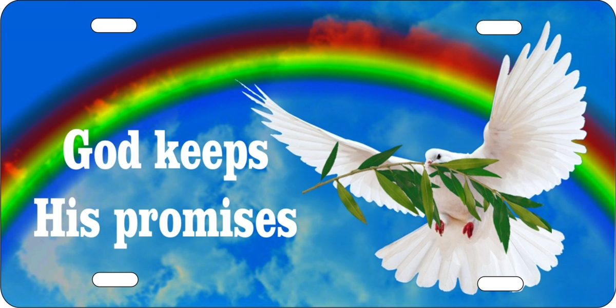 Personalized Novelty License Plate God Keeps His Promises Custom License Plates Personalized