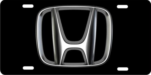 Honda front license plate