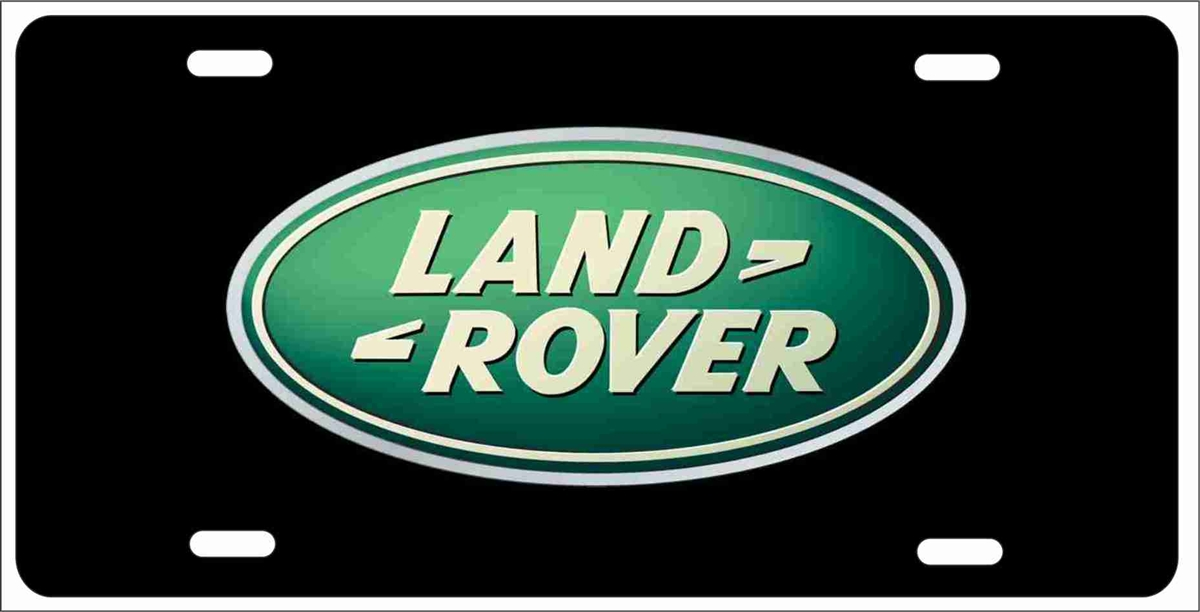 Personalized Novelty License Plate Land Rover Custom