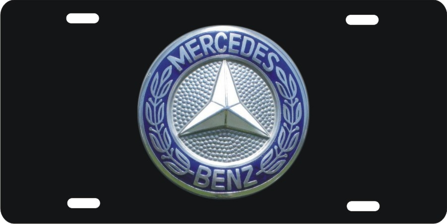 Personalized Novelty License Plate Mercedes Benz Logo Custom License