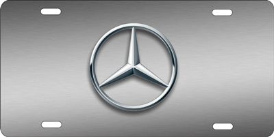 Personalized Novelty License Plate Mercedes Benz Logo