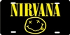Nirvana novelty license plate custom car tag
