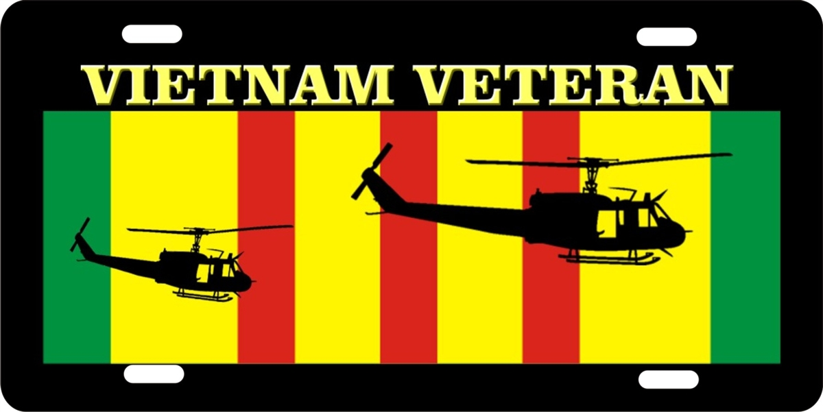 Personalized Front License Plates >> personalized novelty license plate Vietnam veteran Custom ...