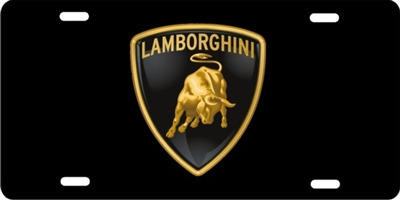 Personalized Front License Plates >> personalized novelty license plate Lamborghini Custom ...
