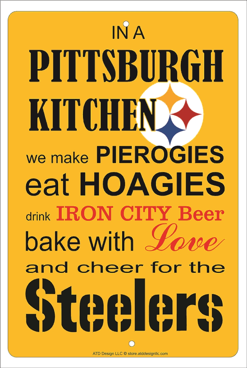 Steelers Fan Parking Only Sports Vanity Metal Novelty Parking Sign