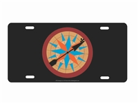 Pocahontas compass novelty front license plate Decorative Vanity Car Tag