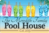 Pool House personalized aluminum sign Novelty Custom signs, personalized signs, Decorative signs, Aluminum signs, airbrush