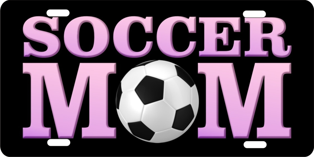 Soccer Mom Personalized Novelty License Plate