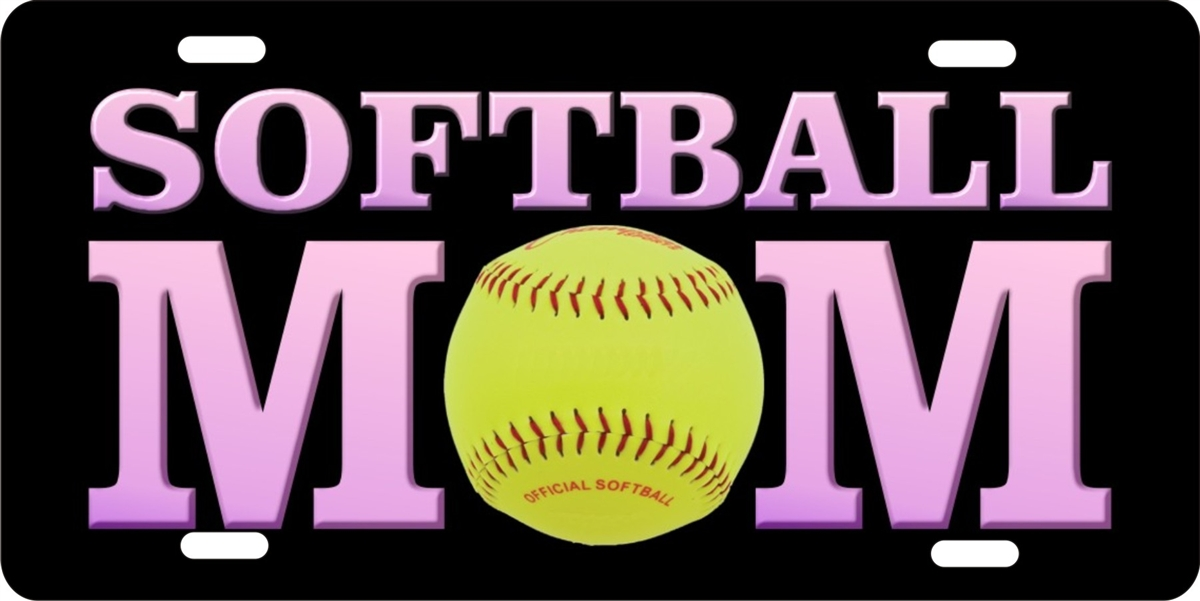 softball Mom personalized novelty license plate  sc 1 st  ATD design LLC store & personalized novelty license plate softball mom Custom License ...