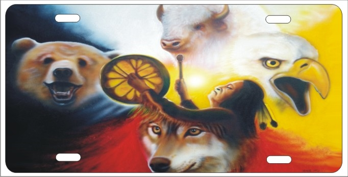 Summoning The Spirits Native American Shaman Medicine