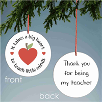 Teacher gift for Christmas or Hanukkah