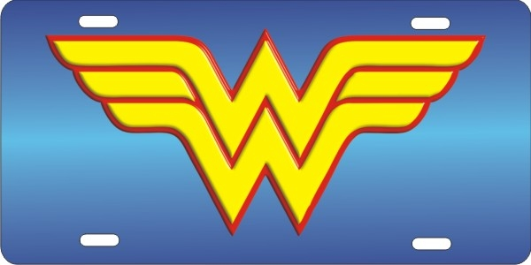 Wonder Woman personalized novelty license plate  sc 1 st  ATD design LLC store & Wonder Woman personalized license plate Custom License Plates ...