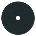 "7"" x 7/8"" Sanding Discs Plain Cloth Black Heavy Duty 80 grit"