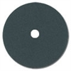 "17"" Black Silicon Carbide Paper Heavy Duty Double Sided Sanding Discs 40 grit"