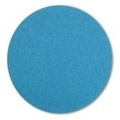 "7"" x NH"" Blue Zirconia Paper Heavy Duty Hook and Loop Sanding Discs 100 grit"
