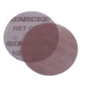 "5"" Aluminum Oxide Mesh Screen Hook and Loop Discs 100 grit"