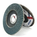 "4-1/2"" x 7/8"" Flap Discs T-27 Power 60 grit"