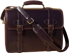 Scholar Laptop Leather Briefcase