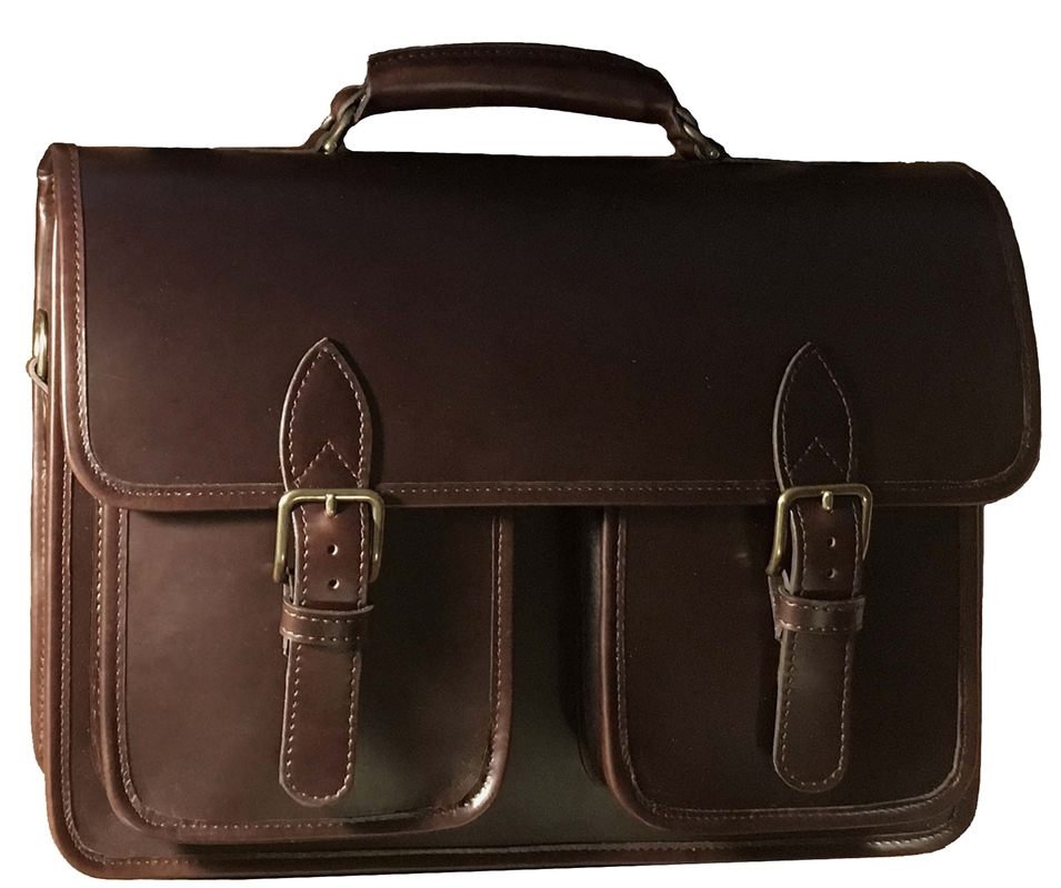 Ranger leather laptop briefcase